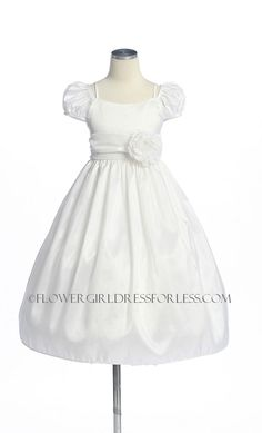 SK_3003W - Flower Girl Dress Style 3003-BUILD YOUR OWN DRESS! Choice of 139 Sash and 51 Flower Options! - Purple - Flower Girl Dress For Less