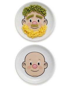 Toddler (or toddler at heart) Gift...maybe they will eat their fruits and veggies if I get a plate like this!?!