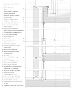 Vertical pivoting louvers on school, by BAAS [328] | filt3rs
