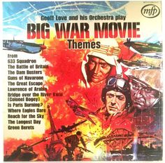 Geoff Love And His Orchestra - Big War Movie Themes