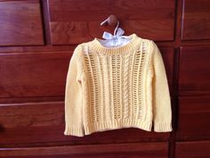 Baby girl summer sweater. So cute!
