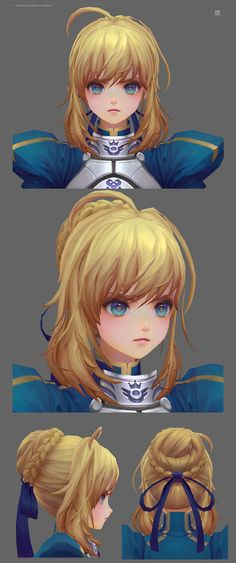 ArtStation - Fate/stay night (Fan art), mina kim