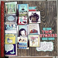 Great idea for remembering those favorite bedtime stories... take pics of the books!!!