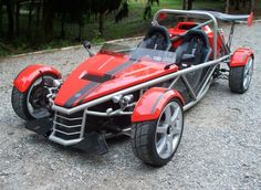 MEV Rocket II - Exoskeleton Kit Car.    http://doveracing.net/cars/sve-rocket and/or http://kitcarlist.com/exoskeleton-kits.html