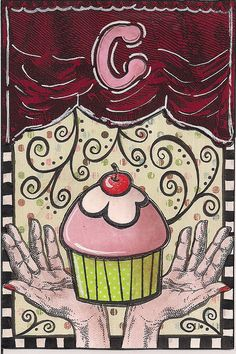 C cupcake...