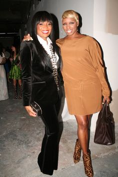 marlo hampton fashion   Two Atlanta Celebs Marlo Hampton   Nene Leakes  Spotted in Designer . 1b78797320