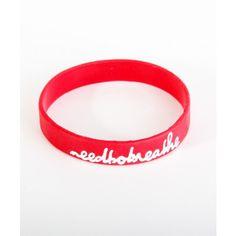 Needtobreathe Script Bracelet  http://store.needtobreathe.net