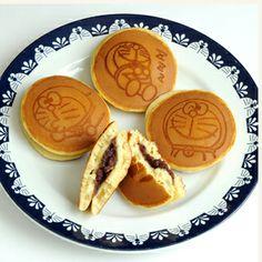 Doraemon Kawaii Food via macaronsandstilettos.com