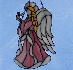 Stained Glass Angel - Hope    tjn