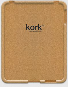 Kork iPad Case: Made of recycled natural cork, easy on and off. €49.95 #iPad_Case #Cork #Kork