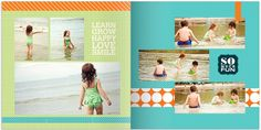 shutterfly photo book layout--bridgeport edition