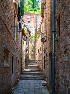 Streets of Kotor by Emil Jovanov, via 500px