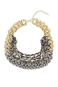Chain and Thread Collar