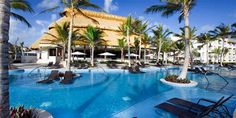 * Hard Rock Hotel and Casino, Punta Cana, Dominican Republic - Lazy river, casino, live music 3x/week, mini golf, climbing wall, 13 restaurants, 7 bars