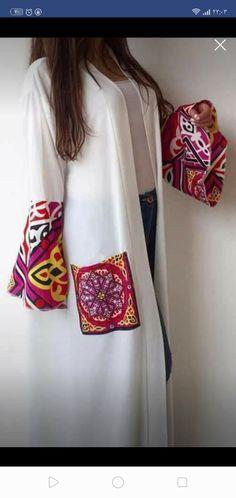 Muslim Fashion, Hijab Fashion, Fashion Outfits, Ramadan Crafts, Stylish Jackets, Diy Crafts For Gifts, Abayas, Fashion Pants, Kitchen Design