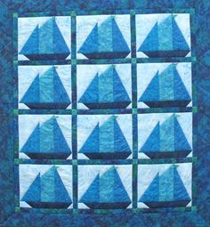Bluenose quilt at Suttles & Seawinds (Nova Scotia, Canada)