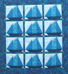 Bluenose quilt at Suttles & Seawinds, Nova Scotia