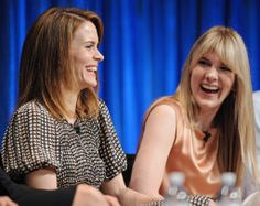 Sarah Paulson and Lily Rabe, AHS panel at Paleyfest Pretty People, Beautiful People, Ahs Cast, Doja Cat, Best Series, Celebs, Celebrities, American Horror Story, Powerful Women