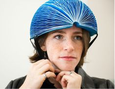 EcoHelmet - Foldable and Recyclable Helmet