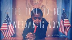 The kid president! Get your weekly updates on soul pancakes!