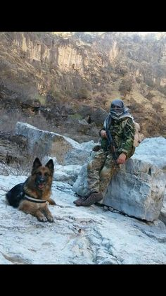 Kurdish special forces K-9 units fighting against isis