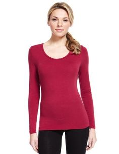 0480b5a10f Heatgen™ Long Sleeve Thermal Top - Marks   Spencer Winter Is Coming
