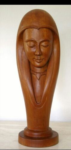 Amazing Carving Female Faces In Wood and Vintage Solid Indigenous Wood Sculpture Women ' S Face Bronze Sculpture, Wood Sculpture, Wood Carving Art, Female Art, Female Faces, Wooden Art, Wassily Kandinsky, Woman Face, Wood Crafts