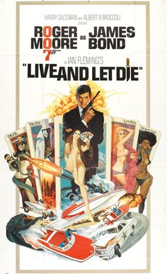 Live and Let Die Poster, Robert McGinnis