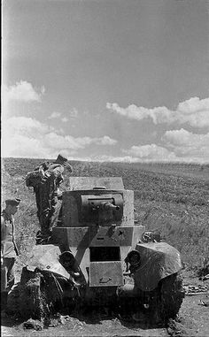 German captured Soviet BT-5 light tank, 1941