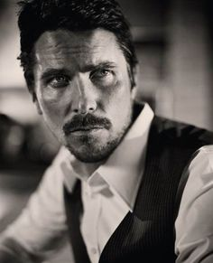 #Christian Bale.... evidence that facial hair truly makes a man look better!
