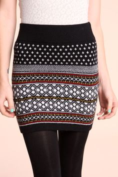 urban outfitters winter skirt