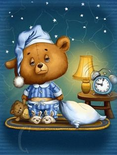 Baby Painting, Miss Kitty, Good Night Wishes, Good Morning Gif, Tatty Teddy, Cute Funny Animals, Toy Boxes, Cute Drawings, Smiley