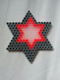 Hama bead star by Thea P.