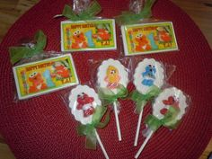 Party favors for (Baby Sesame Street) themed 1st birthday !