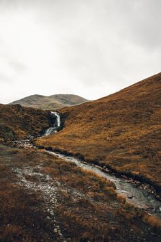 Wild rivers in Autumnal Scotland