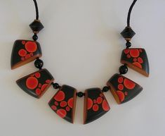 untitled polymer clay necklace | by ClaireWallis
