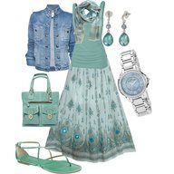 Teal and sequins!!