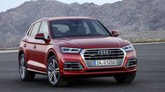 2017 Audi Q5 способен к дрифту