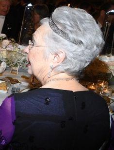 Princess Christina of Sweden at the 2017 Nobel Prize ceremony - 10.12.17
