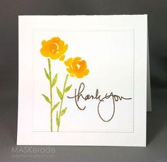 "MASKerade | SU ""Painted Petals"" Stamp Set (2.28.16)"