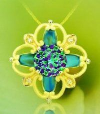 14k yellow gold Davinchi Cut Necklace by Galatea!