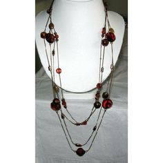 brown chain and bead necklaces   Contact us   Shipping Policy   Return Policy   Search this site   Tell ...