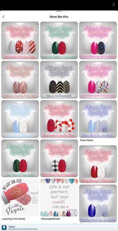 Gel Polish Colors, Nail Colors, Hot Nails, Hair And Nails, Fancy Nails, Pretty Nails, Merry Christmas, Christmas Nails, Nail Color Combos