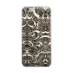 Swirl Maker Graphic iPhone Case