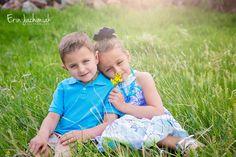 Sibling Photography - Denver Colorado Children's Photographer - Erin Jachimiak Photography