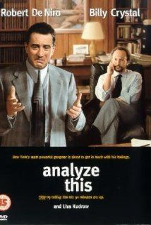 Analyze This (1999)  Comedy!  How do you treat a patient who usually solves problems with a gun?