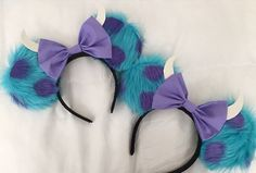 Pin for Later: Unique Disney Ears That Open Up a Whole New World of Vacation Ideas Monsters Inc. (You can buy ears from this seller!)