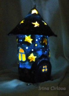 My favorite houses (felting, felt). Discussion on LiveInternet - Russian Service Online Diaries