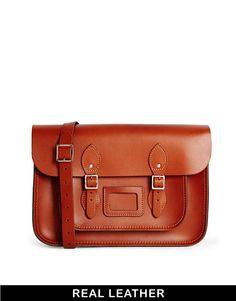 "Image 1 ofThe Leather Satchel Company 14"" Satchel"