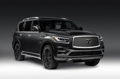 Infiniti will use next week's 2018 New York International Auto Show to introduce new Limited versions of its QX80 and QX60 SUVs. They arrive for the 2019 model year. Limited means top-of-the-line at Infiniti, so the vehicles are packed with the best the brand has to offer. The QX80 Limited's exterior is all about subtle details. There are 22-inch wheels…